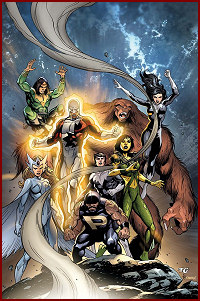 Solicited cover art by Tom Grummett for Alpha Flight v4 #6