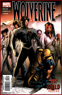 Wolverine #28 Brainwashed, evil Northstar appears on the cover